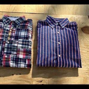 American Living mens button long sleeve shirts L
